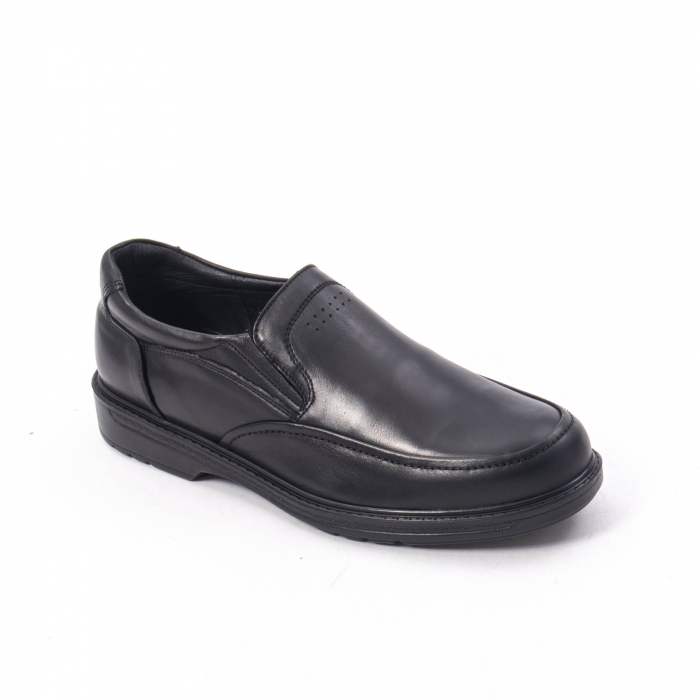 Pantofi eleganti barbati piele naturala, Catali 192561, negru 0