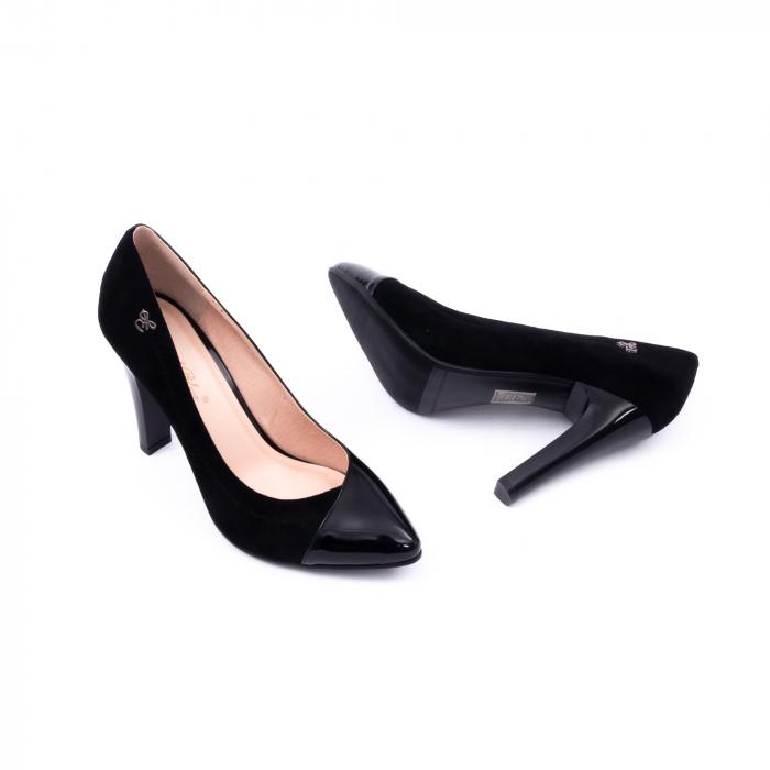 Pantofi eleganti dama 6042 negru 2
