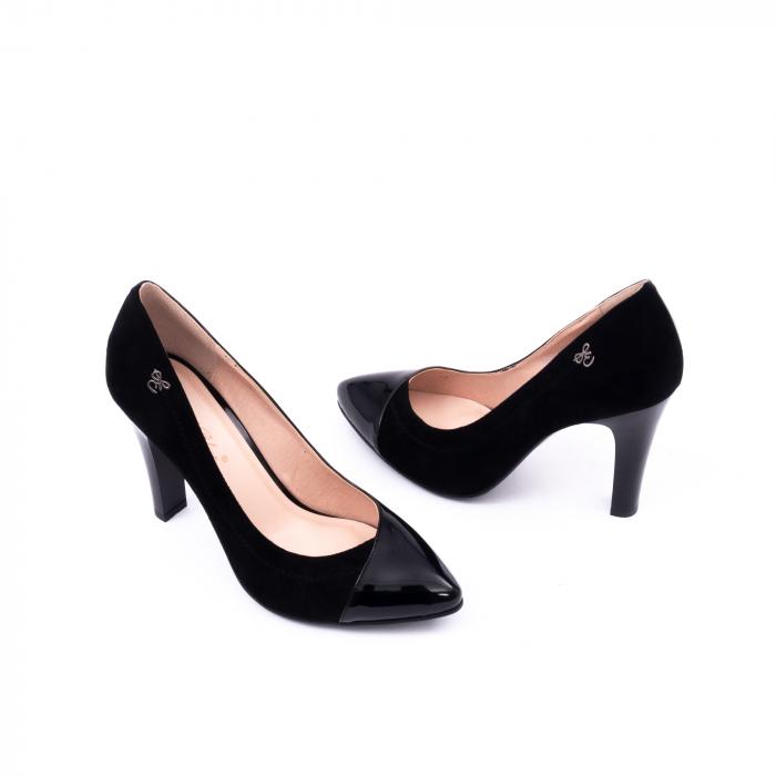 Pantofi eleganti dama 6042 negru 3