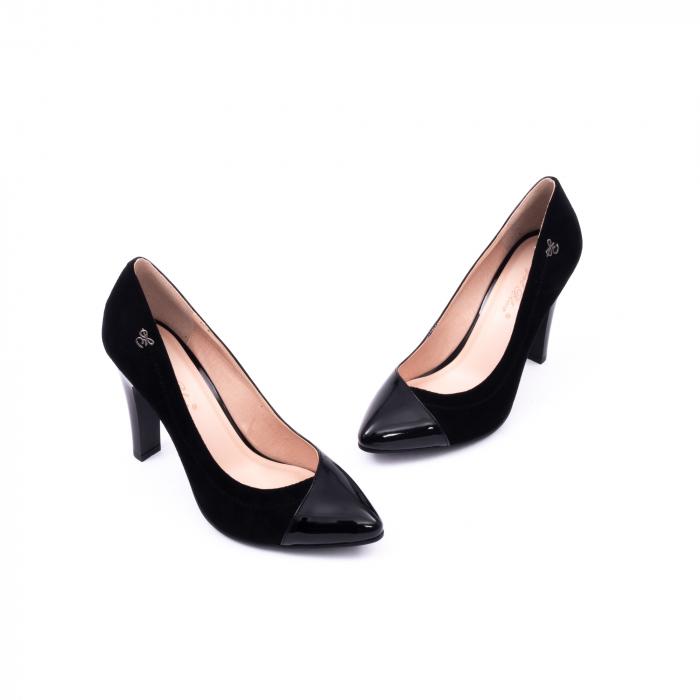 Pantofi eleganti dama 6042 negru 1