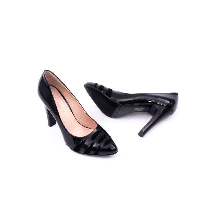 Pantofi eleganti dama 6045 negru 2