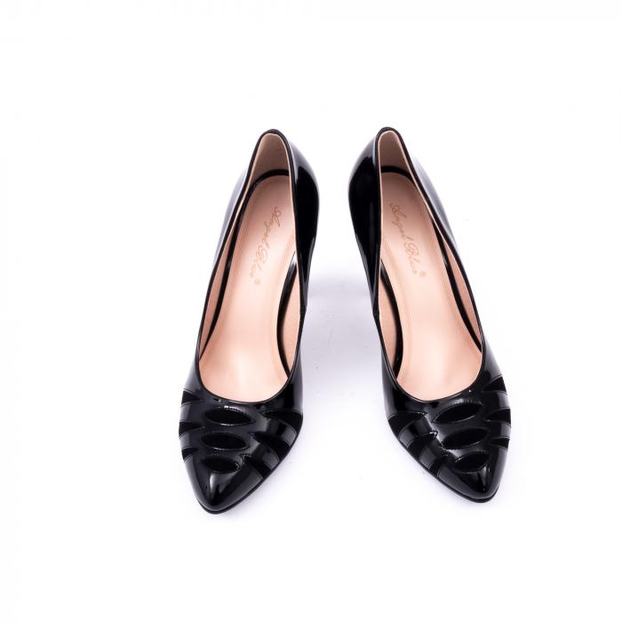 Pantofi eleganti dama 6045 negru 6