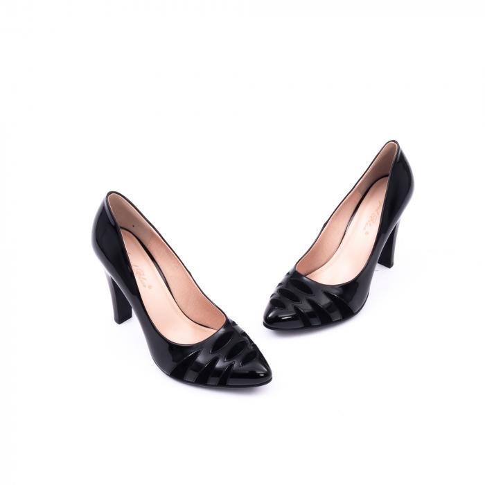 Pantofi eleganti dama 6045 negru 1