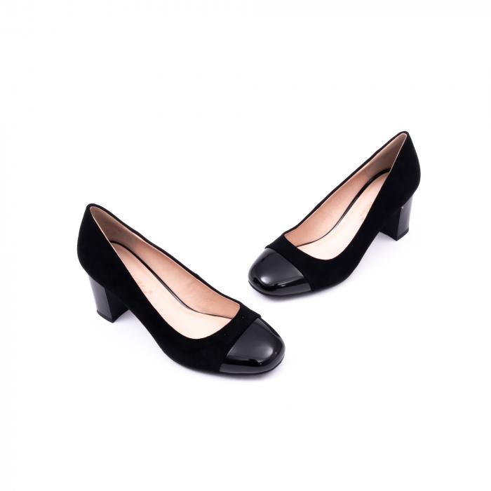 Pantofi eleganti dama 6046 negru 1