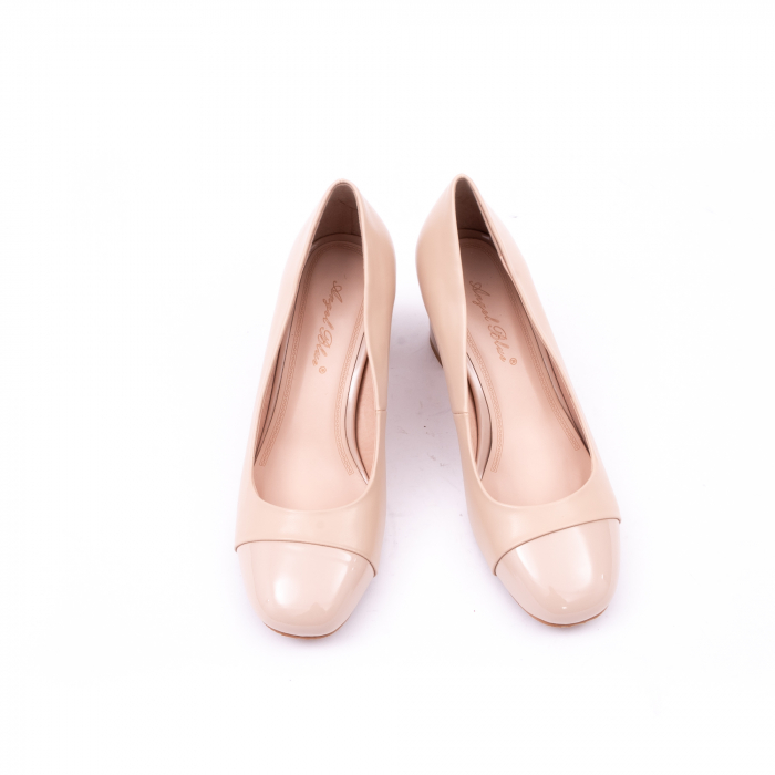 Pantofi eleganti dama 6046 nude 6