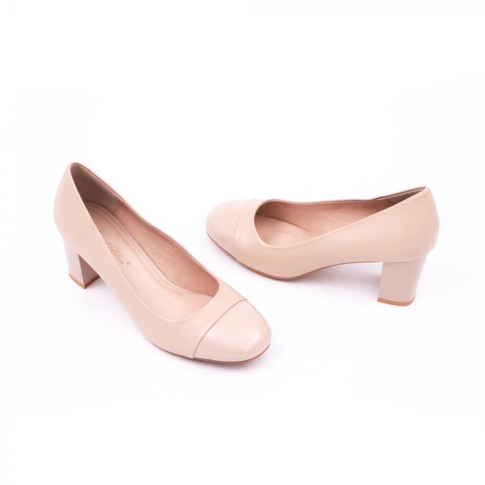 Pantofi eleganti dama 6046 nude 3