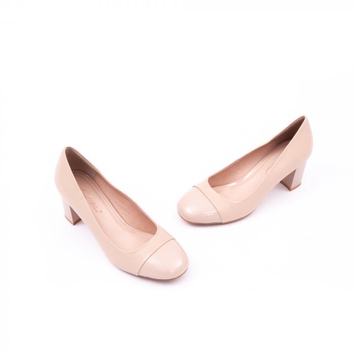 Pantofi eleganti dama 6046 nude 1