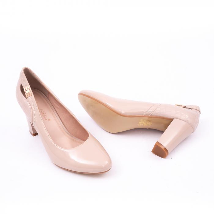 Pantofi eleganti dama 7090 nude