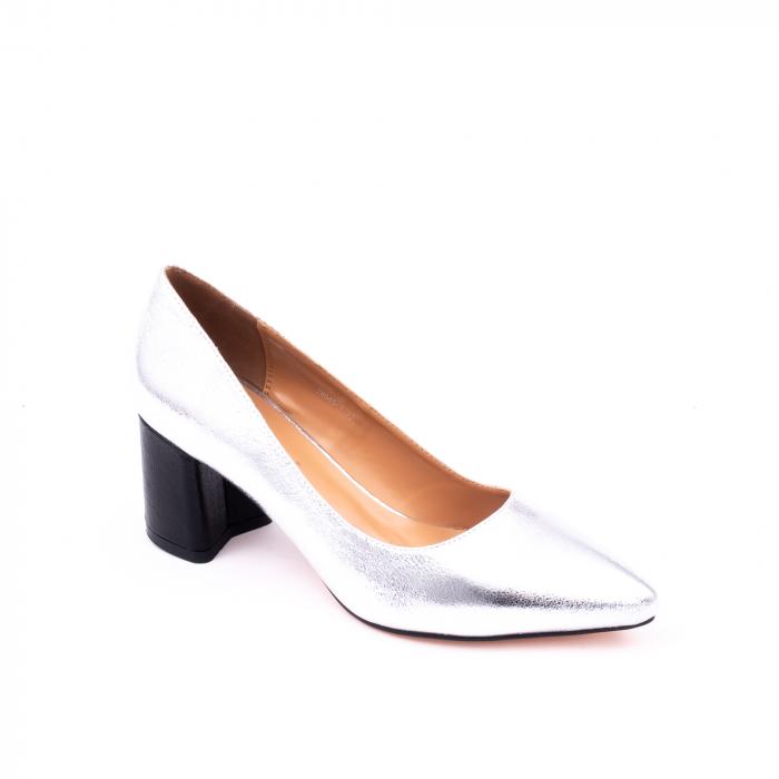 Pantofi eleganti dama 945 argintiu 0
