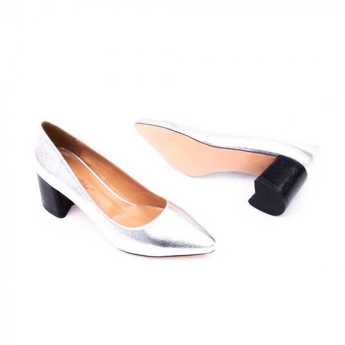 Pantofi eleganti dama 945 argintiu 3