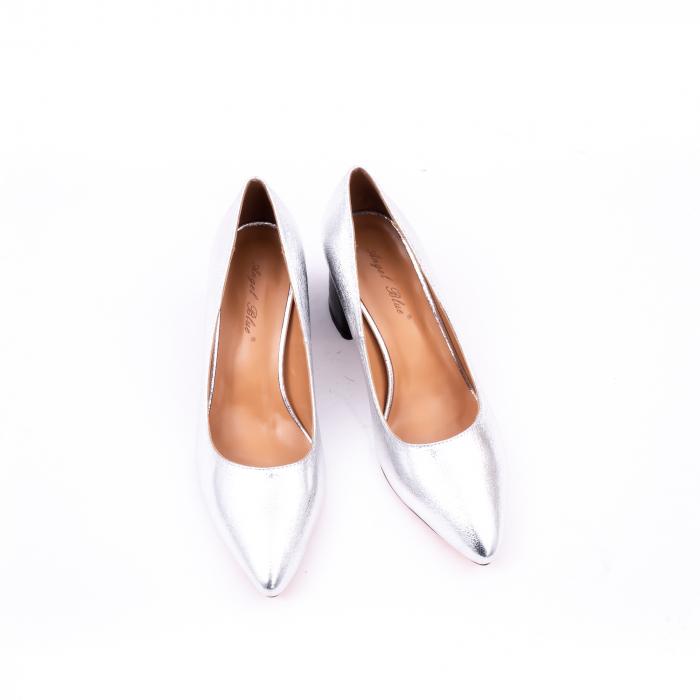 Pantofi eleganti dama 945 argintiu 5