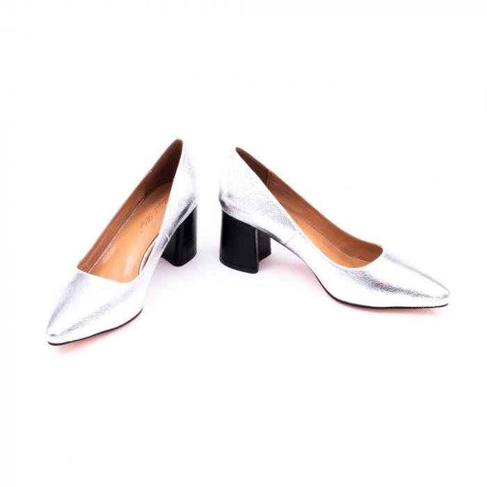 Pantofi eleganti dama 945 argintiu