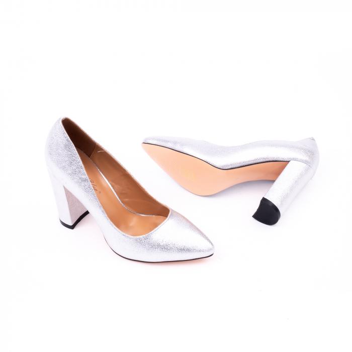 Pantofi eleganti dama 946 argintiu