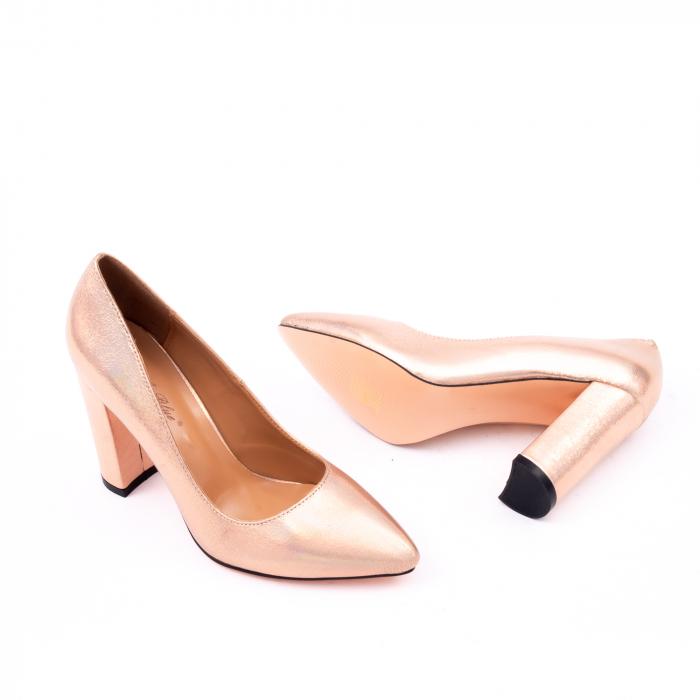 Pantofi eleganti dama 946 auriu 2