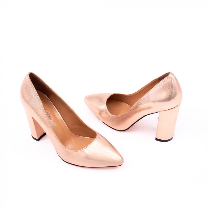 Pantofi eleganti dama 946 auriu 1