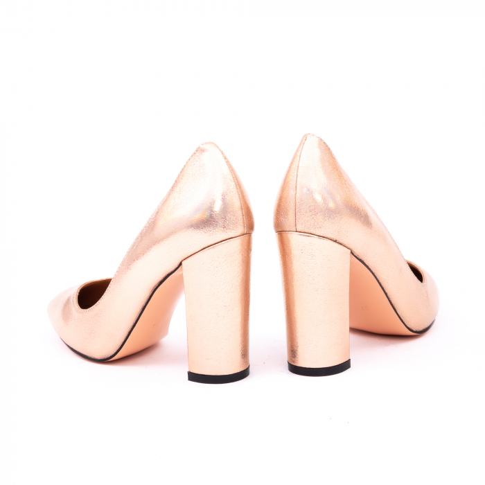 Pantofi eleganti dama 946 auriu 6