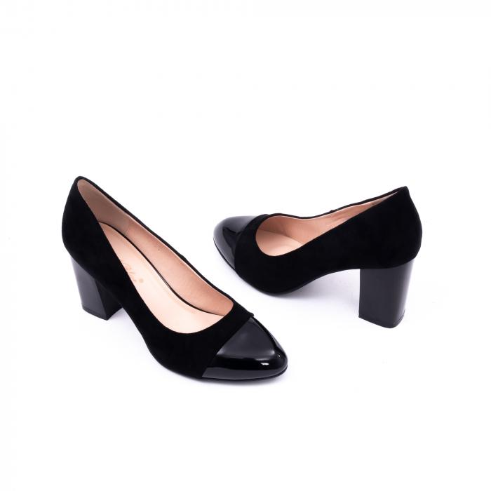 Pantofi eleganti dama 9502 negru 2