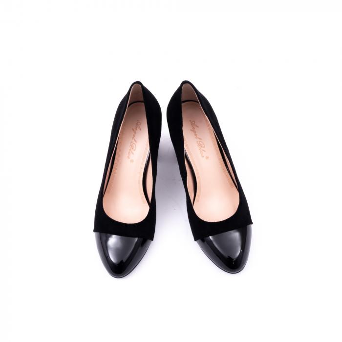 Pantofi eleganti dama 9502 negru 5