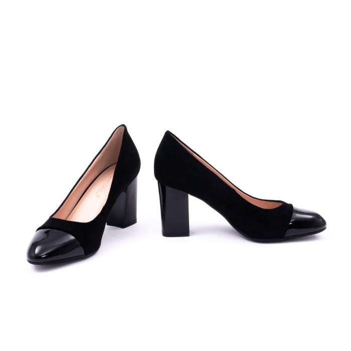 Pantofi eleganti dama 9502 negru 4