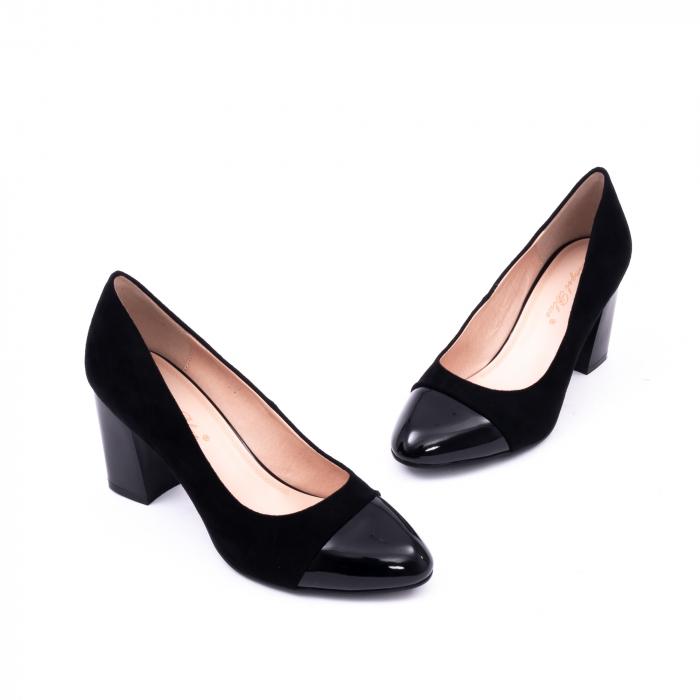 Pantofi eleganti dama 9502 negru 1
