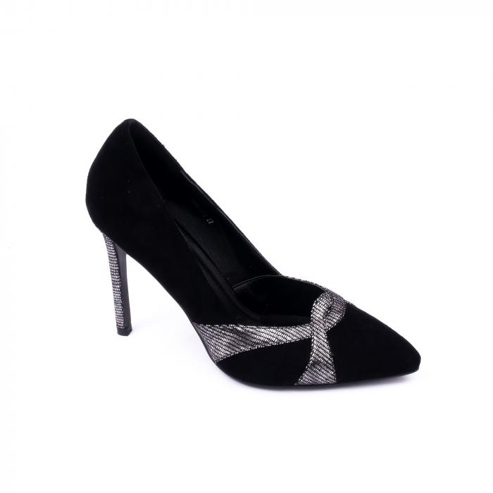 Pantofi eleganti dama 9511 negru. 0