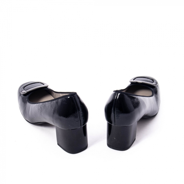 Pantofi eleganti dama ,piele naturala Ara 12-35534, negru lac 6