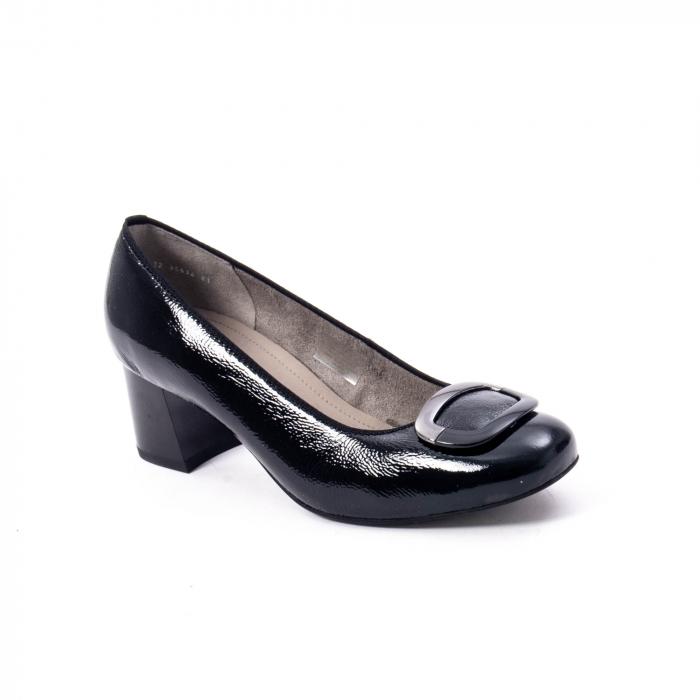 Pantofi eleganti dama ,piele naturala Ara 12-35534, negru lac 0