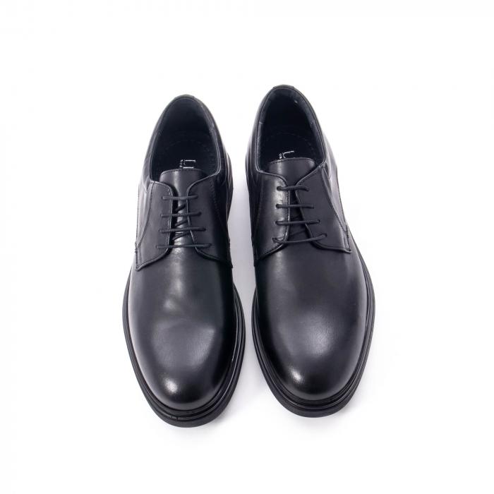 Pantofi eleganti de barbat din piele naturala,  998 negru 5