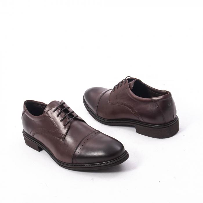 Pantofi eleganti de barbat,piele naturala Catali 172558 maro 2