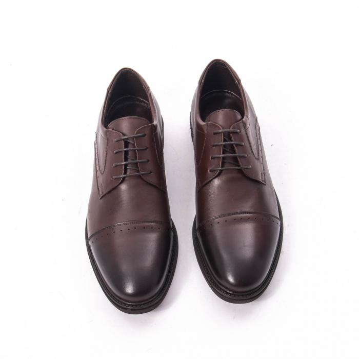 Pantofi eleganti de barbat,piele naturala Catali 172558 maro 5
