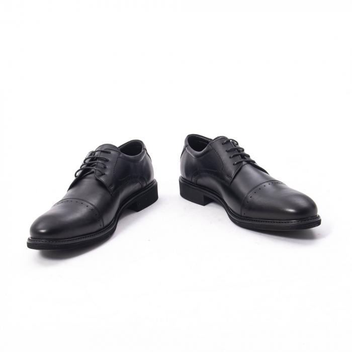 Pantofi eleganti de barbat,piele naturala Catali 172558 negru 4