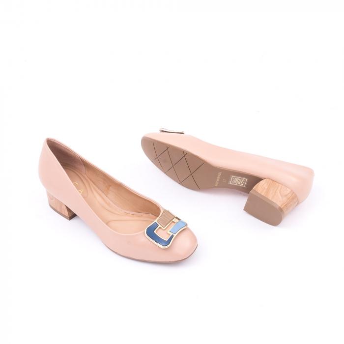 Pantofi eleganti EPICA OE8751 - bej 2
