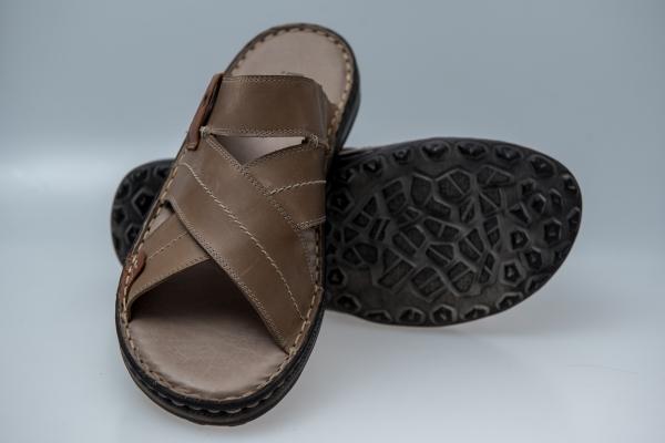 Papuci barbat LFX 800 taupe