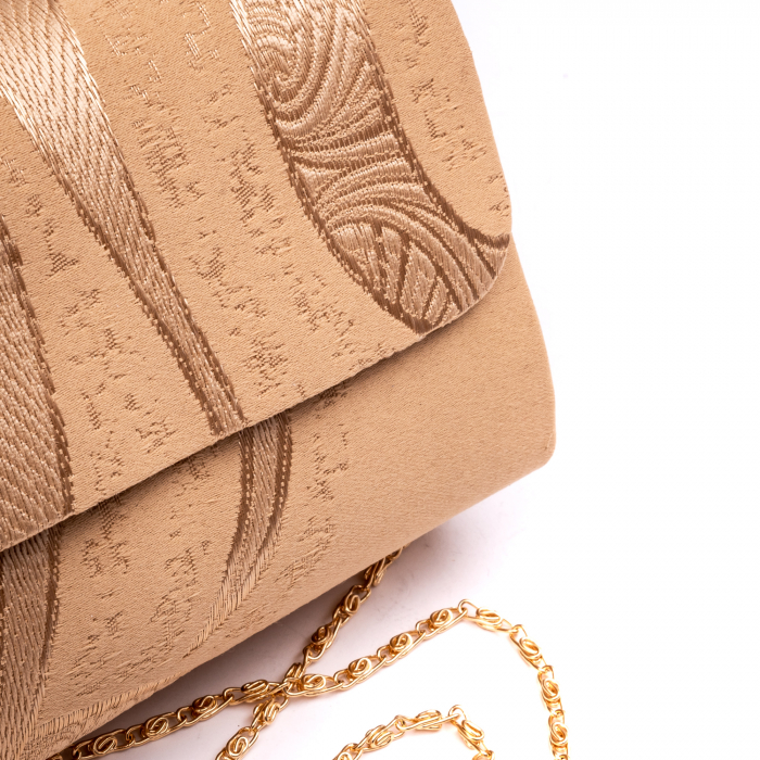Plic  butoias 002 textil bej auriu 2