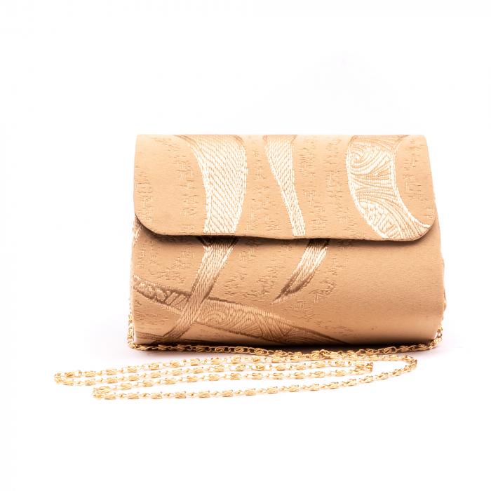 Plic  butoias 002 textil bej auriu 0