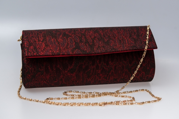 Plic butoias 002 textil rosu grena