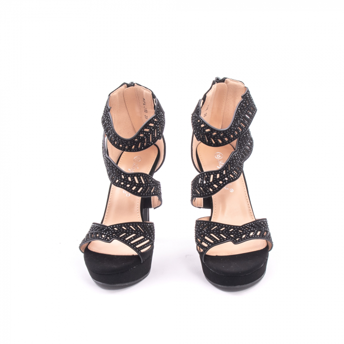 Sanda eleganta dama 713 negru 1