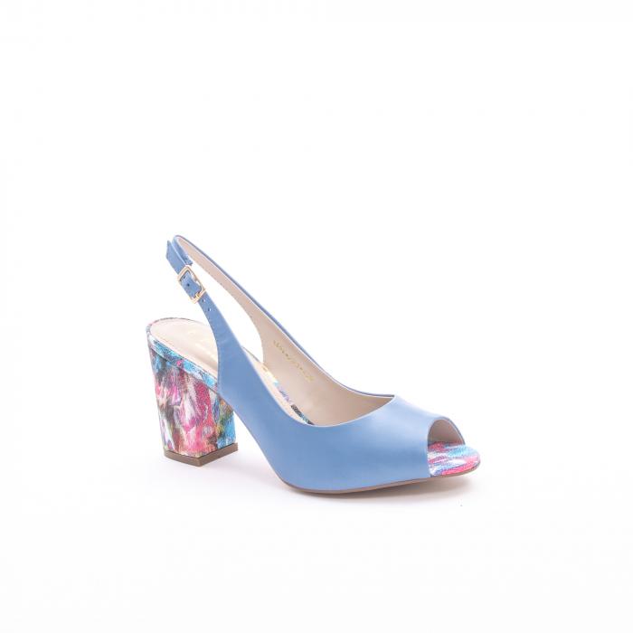 Sanda eleganta dama OE5554-203 bleu
