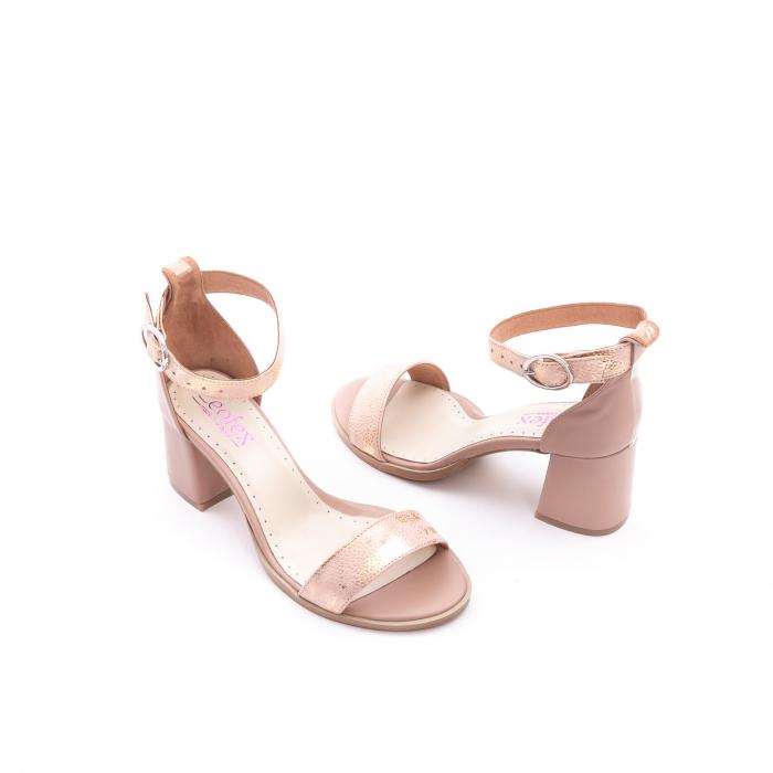 Sandale dama LFX 128 nude 3
