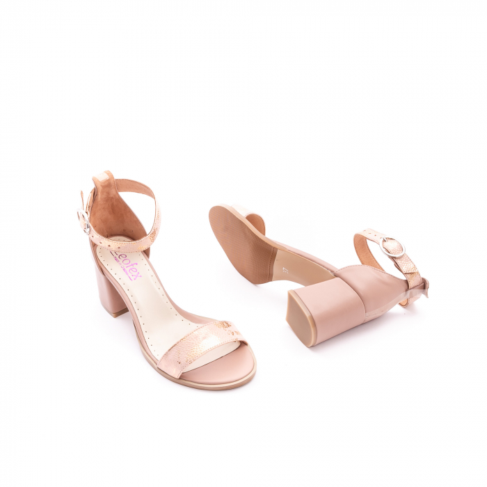 Sandale dama LFX 128 nude 2