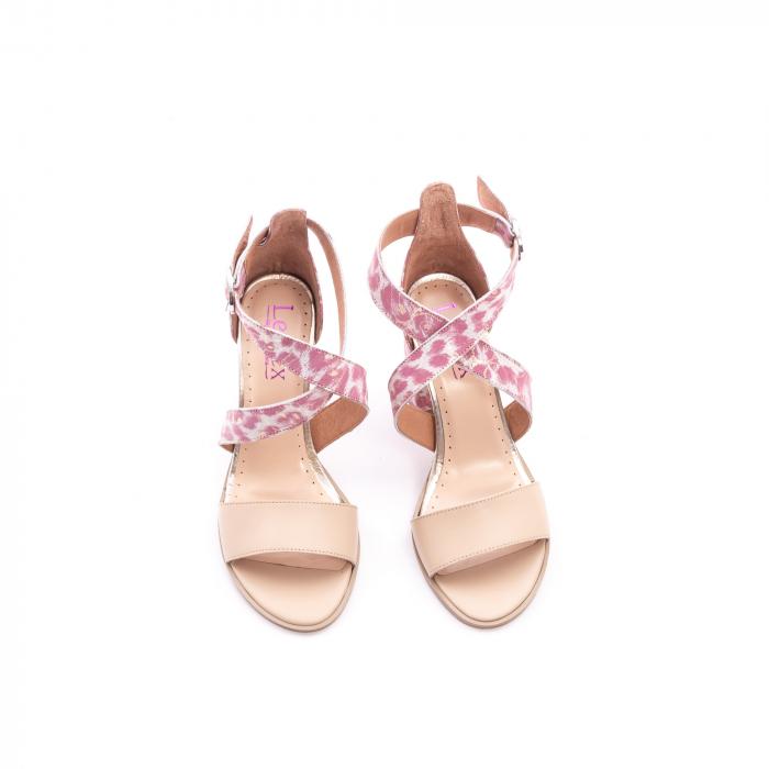 Sandale dama  LFX 139  nude roze 5