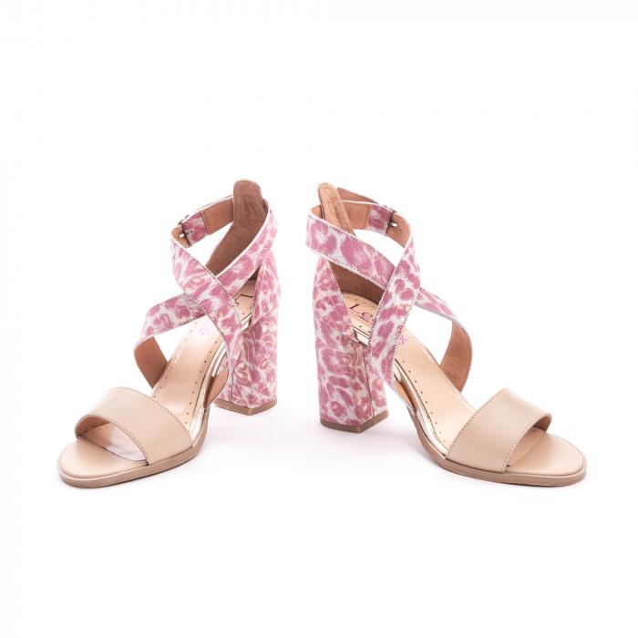 Sandale dama  LFX 139  nude roze 4