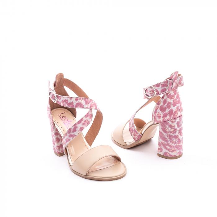 Sandale dama  LFX 139  nude roze 3