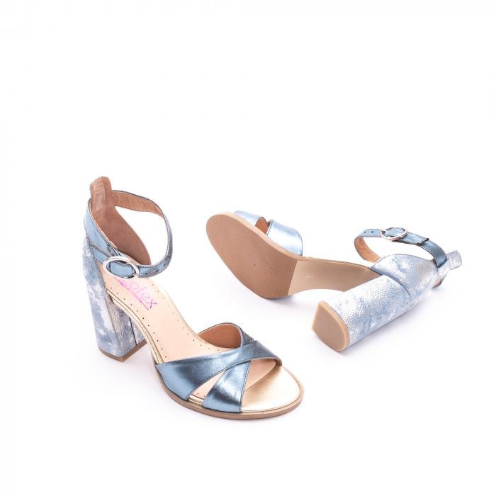 Sandale dama  LFX 148 blue sidef 2