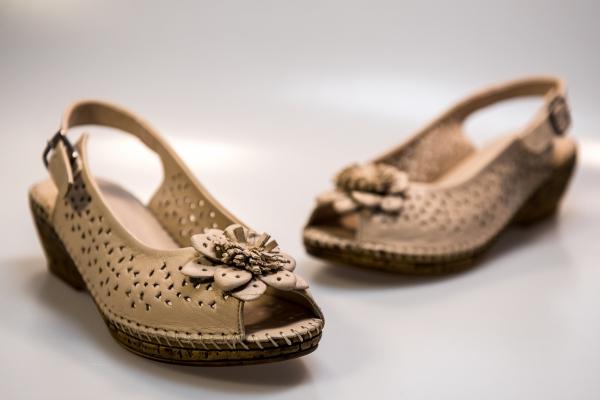 Sandale dama PASS  QM065-701 BEJ