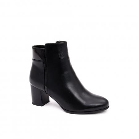 Botine elegante 1717-1 black