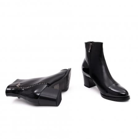 Botine elegante dama TN940 black2