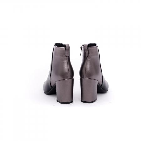 Botine elegante dama VN9239-3 black&pewter5