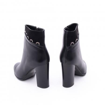 Botine elegante dama VN9327-1 Black5