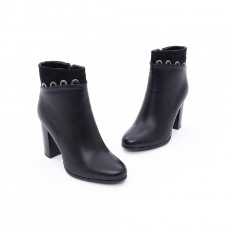 Botine elegante dama VN9327-1 Black1
